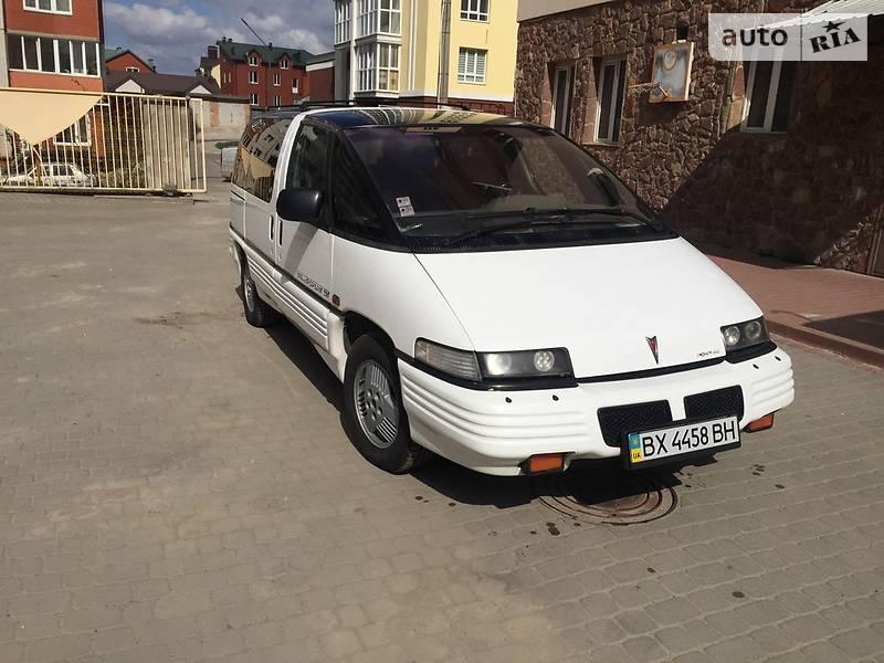 Pontiac Trans Sport 1992 року