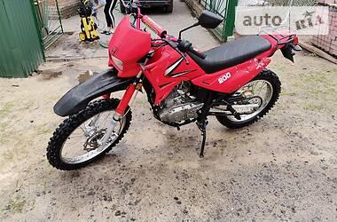 Мотоцикл Кросс Qingqi QM200 2007 в Ківерцях