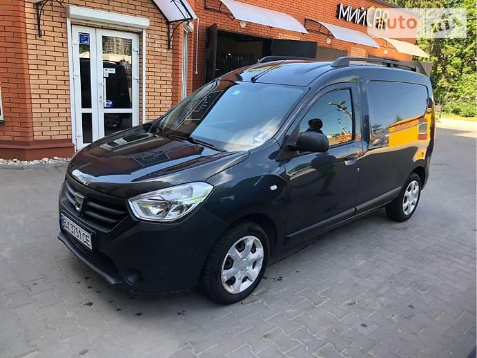 Renault Dokker VAN 2013 года
