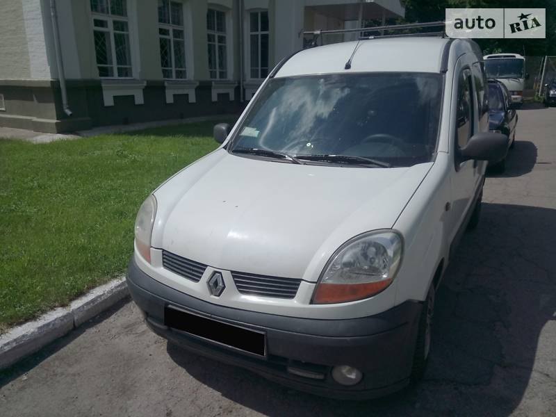 Унiверсал Renault Kangoo пасс. 2003 в Чернігові