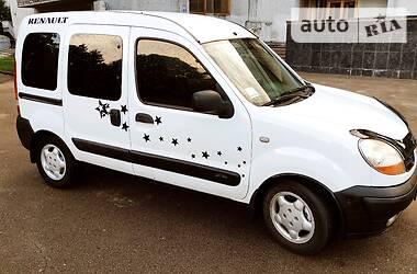 Легковой фургон (до 1,5 т) Renault Kangoo пасс. 2006 в Бердичеве