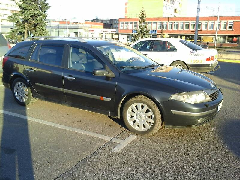 Renault Laguna 2004 года в Львове