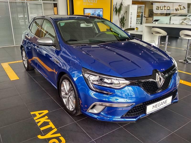 Renault Megane 2017 года