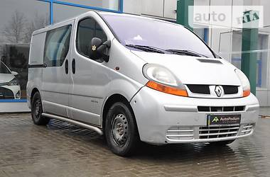 Renault Trafic пасс. 2002 в Николаеве