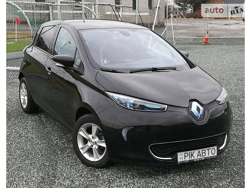 Renault Zoe 2017 года