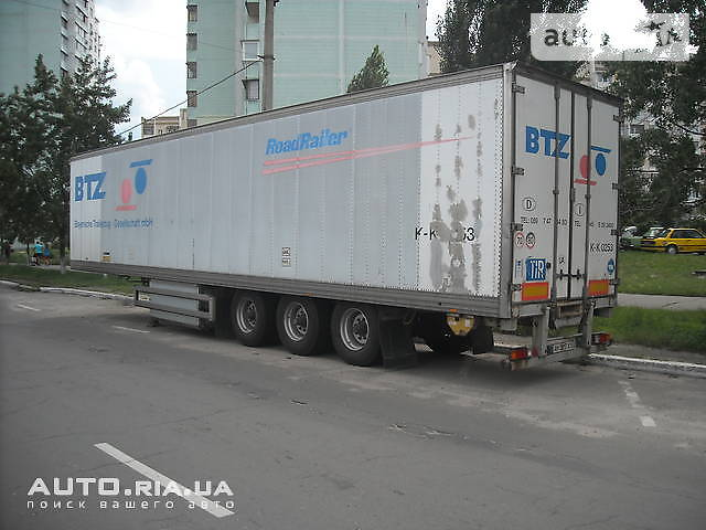 RoadRailer Изотермо 1997 в Києві