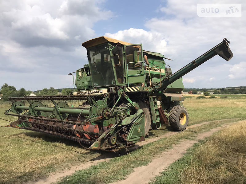 Комбайн зерноуборочный Ростсельмаш Дон 1500Б 2000 в Здолбунове