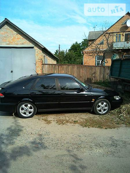 Saab 9-3 2002 года