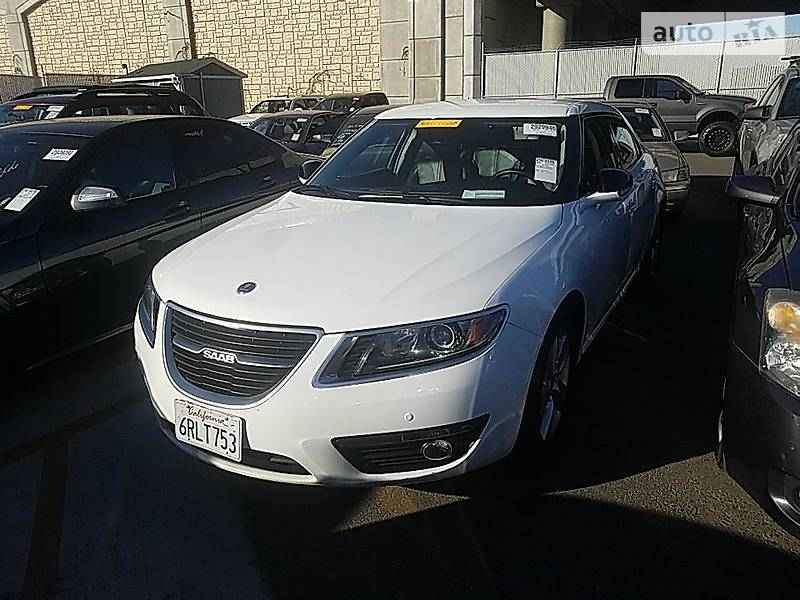 Saab 9-5 2011 года