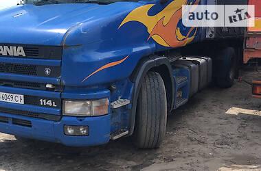 Тягач Scania 114 2001 в Рубежном