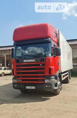 Рефрижератор Scania 124 2002 в Черкассах