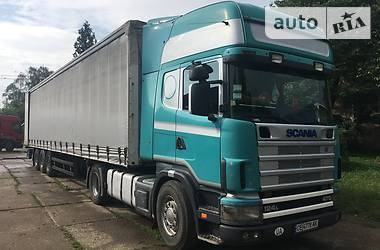 Scania R 380 2001 в Черновцах