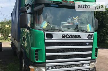 Бортовой Scania R 420 2003 в Трускавце