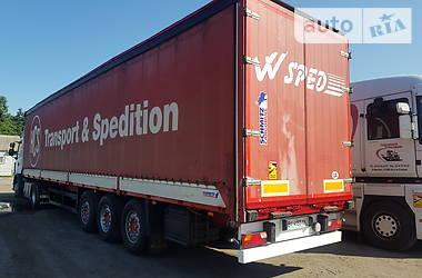 Тентованный борт (штора) - полуприцеп Schmitz Cargobull S01 2002 в Кременчуге