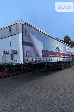 Тентованный борт (штора) - полуприцеп Schmitz Cargobull S01 2013 в Ковеле