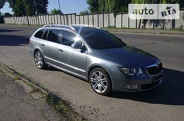 Skoda SuperB New 2010 в Умані
