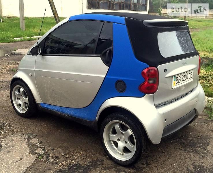 Smart Cabrio 2003 года