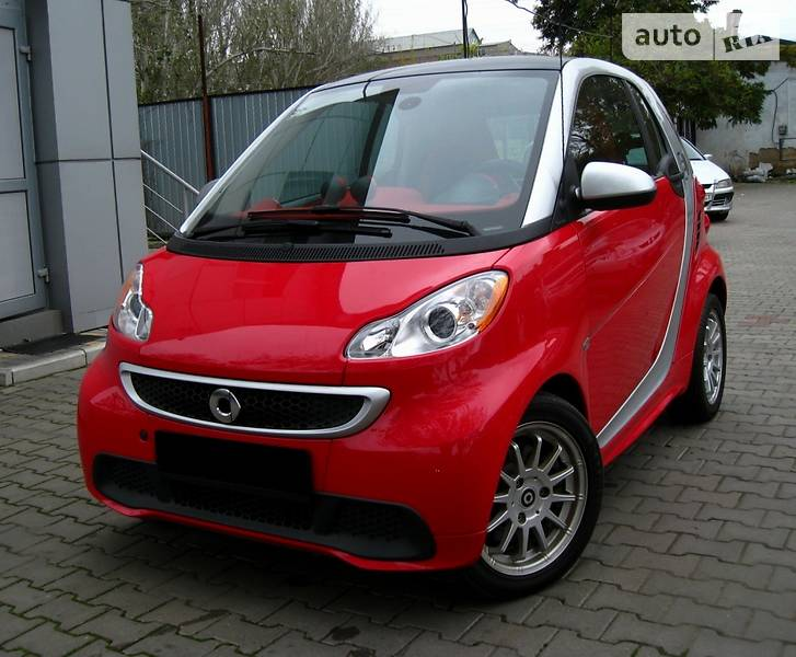 Smart Fortwo ED 2014 года
