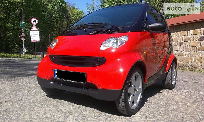 Smart fortwo 2006 года