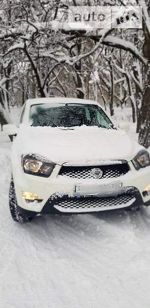 SsangYong Actyon Sports 2013 года в Донецке