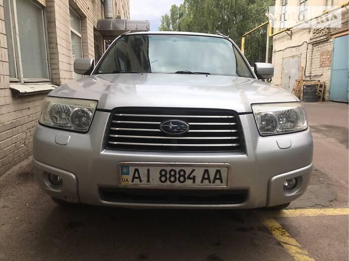 Позашляховик / Кросовер Subaru Forester 2006 в Києві