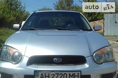 Subaru Impreza WRX Sedan 2003 в Донецке