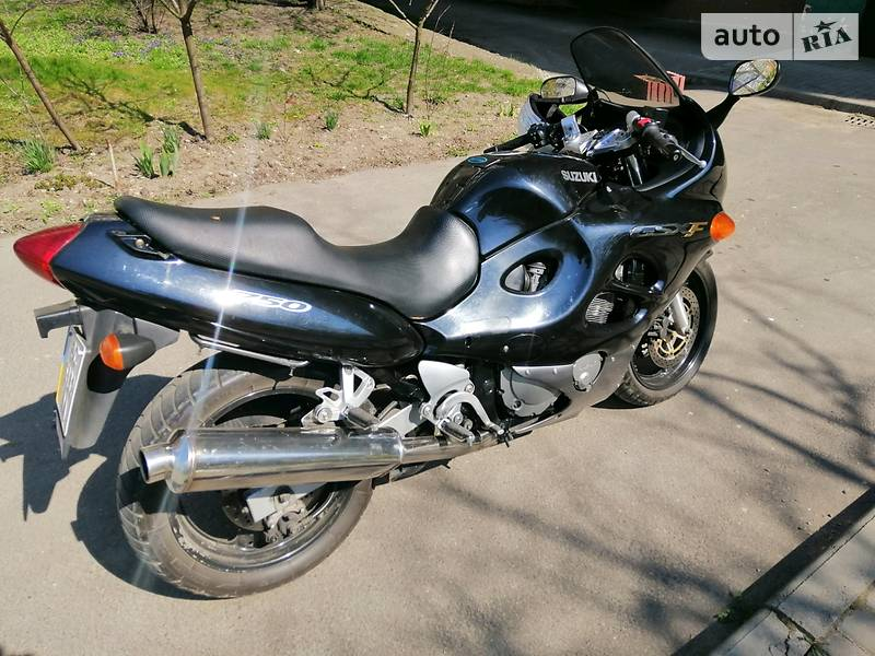 Спортбайк Suzuki GSX 750 2002 в Івано-Франківську