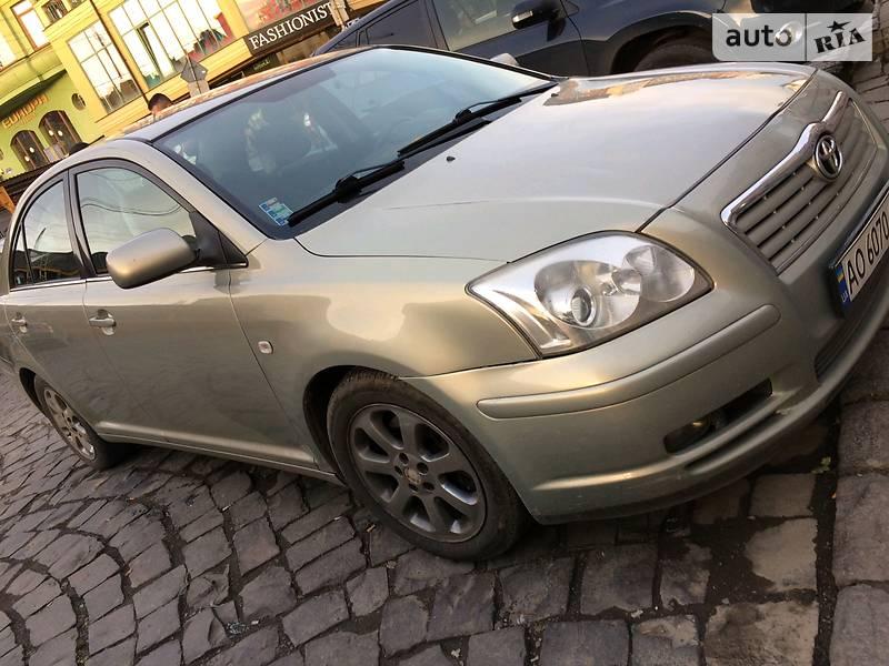 Toyota Avensis 2004 в Ужгороде