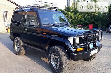 Toyota Land Cruiser 70 LJ72 1991