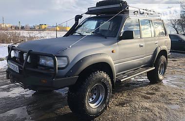 Внедорожник / Кроссовер Toyota Land Cruiser 80 1992 в Ровно