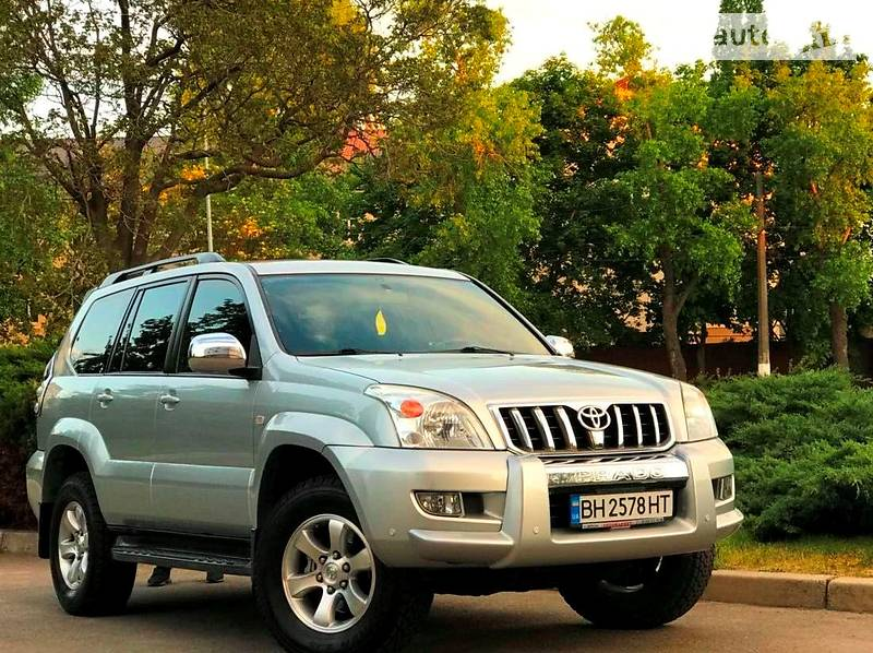 Toyota Land Cruiser Prado 2008 в Одессе