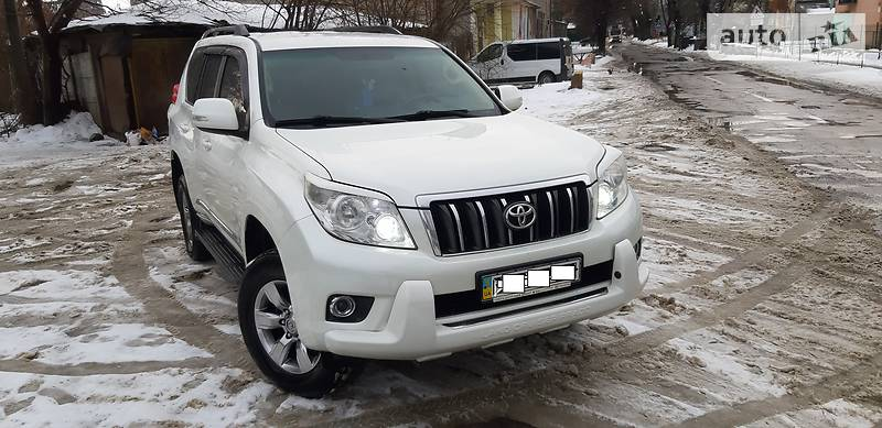 Toyota Land Cruiser Prado 2010 года в Львове