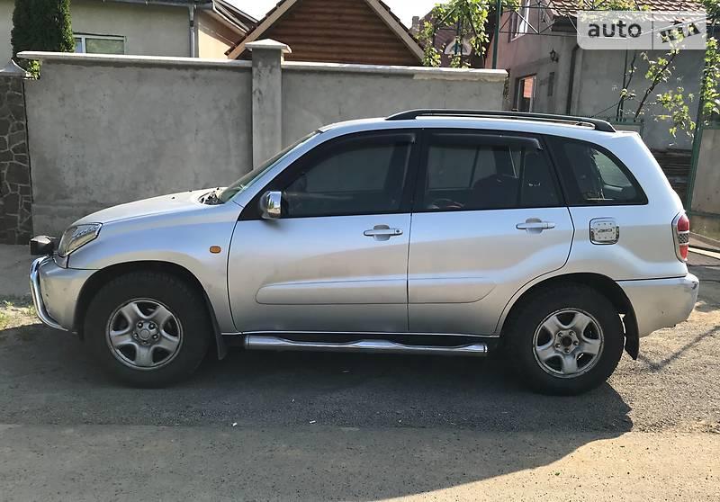 Toyota Rav 4 2002 в Мукачево