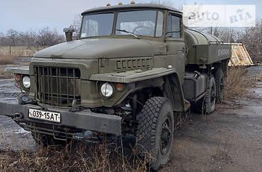Цистерна Урал 375 1982 в Хрустальному