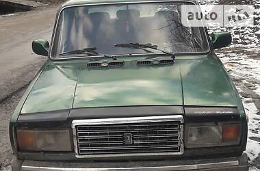 ВАЗ 2107 1987 в Великом Березном