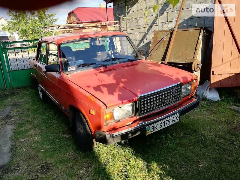 ВАЗ 2107 1990 в Сарнах
