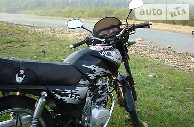 Viper 125 2012 в Львове