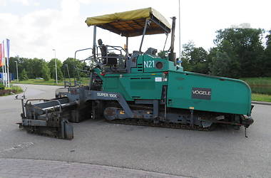 Vogele Super 1900 2001