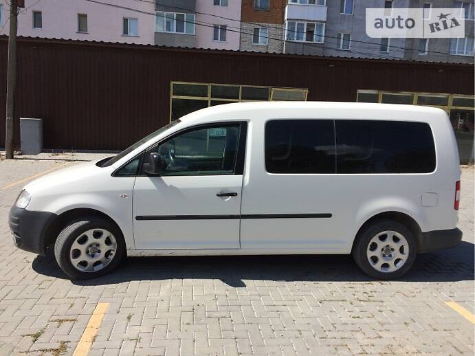 Volkswagen Caddy пасс. 2009 в Чемеровцах