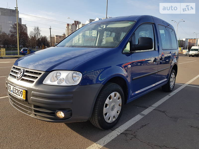 Volkswagen Caddy пасс. 2008 в Чернигове