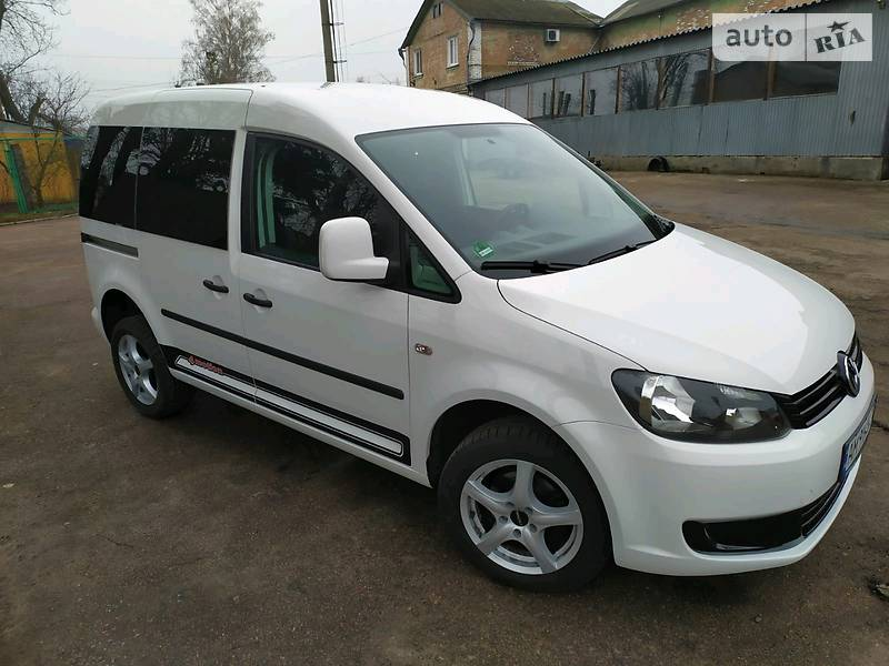 Volkswagen Caddy пасс. 2015 в Бердичеве