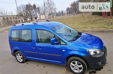 Volkswagen Caddy пасс. 2010 в Радивилове