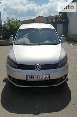 Минивэн Volkswagen Caddy пасс. 2014 в Олевске