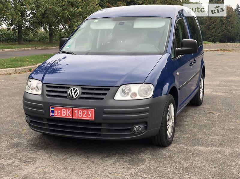 Volkswagen Caddy пасс. TEAM 1.6MPI