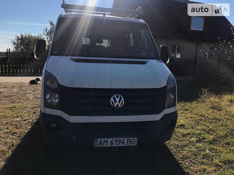 Volkswagen Crafter груз.-пасс.