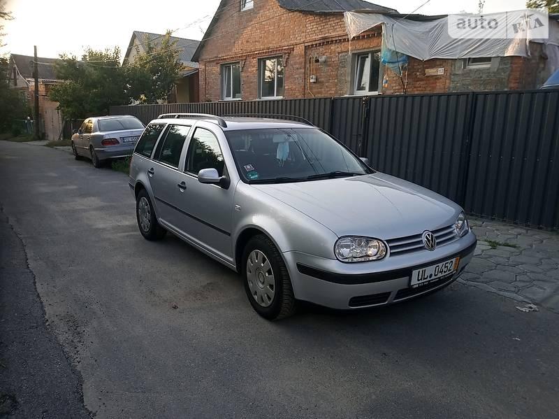 Универсал Volkswagen Golf IV 2001 в Виннице