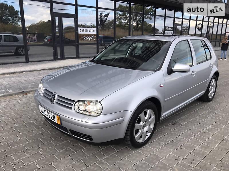 Хэтчбек Volkswagen Golf IV 2003 в Ивано-Франковске