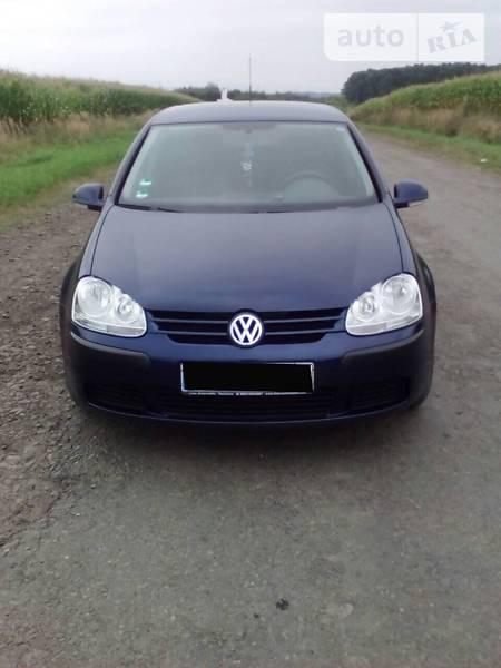 Volkswagen Golf 2006 года в Львове