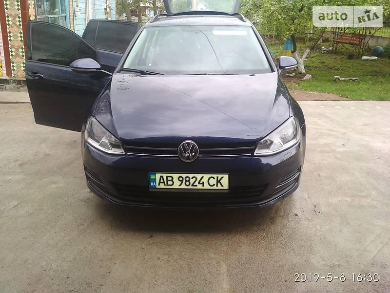 Унiверсал Volkswagen Golf VII 2013 в Шаргороді
