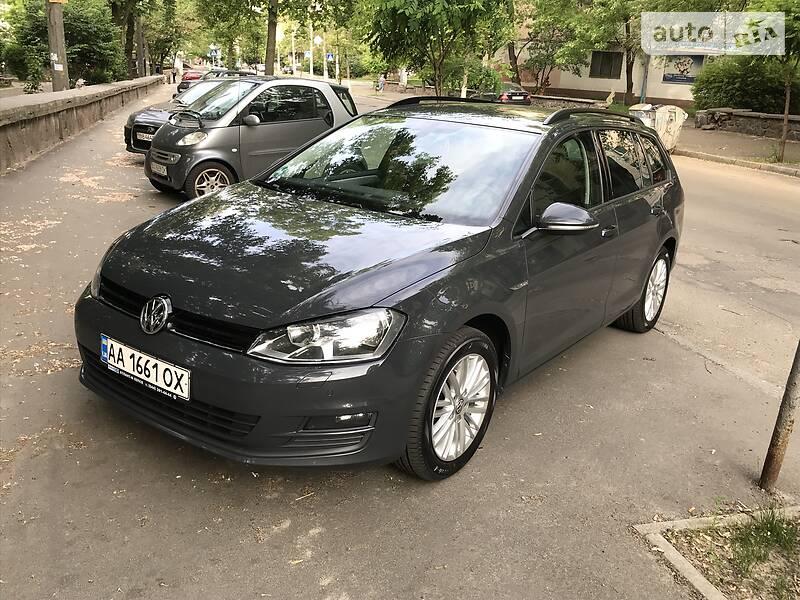 Унiверсал Volkswagen Golf VII 2014 в Києві